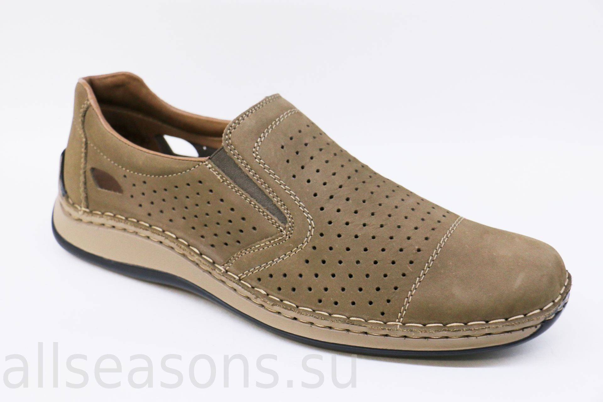 0abdd8e29 Кожаные мужские туфли RIEKER